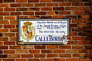 Calle Borbo Print by Susie Hoffpauir