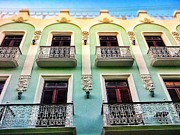 Old San Juan Digital Art Prints - Calle Luna Print by Olivier Calas