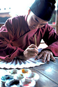 Carl Purcell - Calligrapher in Hong Kong