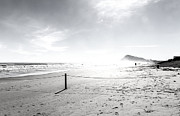 Herbert Seiffert Framed Prints - Calm Beach III Framed Print by Herbert Seiffert
