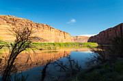 Calm Colorado River Print by Michael J Bauer