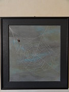 Spider Tapestries - Textiles - Calm Corner by Jeler Anita LeatherArt