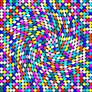 Calm Dots Print by George Curington