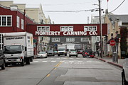 Fisheries Prints - Calm Morning At Monterey Cannery Row California 5D24773 Print by Wingsdomain Art and Photography