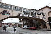 Fishery Prints - Calm Morning At Monterey Cannery Row California 5D24780 Print by Wingsdomain Art and Photography
