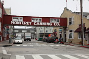 Fishery Posters - Calm Morning At Monterey Cannery Row California 5D24781 Poster by Wingsdomain Art and Photography