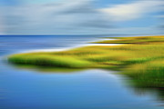 Kite Surfing Metal Prints - Calm Waters - a Tranquil Moments Landscape Metal Print by Dan Carmichael
