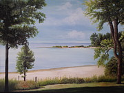 Calm Waters Print by Martin Schmidt