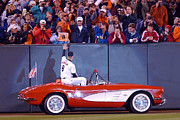 Cal Ripken Photos - Cals 2131 Corvette Ride by Jonathan Brown