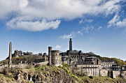 Martyrs Prints - Calton Hill Edinburgh Scotland Print by Ann Garrett