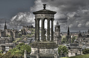 Urban Framed Prints - Calton Hill Framed Print by Marion Galt