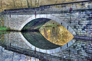 David Birchall - Calver Bridge Reflection