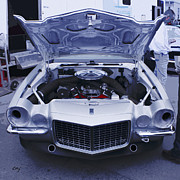 Curt Johnson Metal Prints - Camaro Trans Am Frontal Metal Print by Curt Johnson