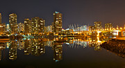 Cambie Bridge Prints - Cambie Bridge Print by Peter Boyer