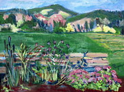 Cambridge Countryside Print by Betty Pieper