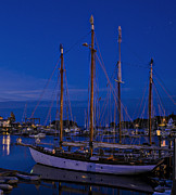 Marty Saccone - Camden Harbor Maine at...