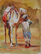 Mohamed Fadul - Camel and the desert