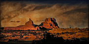 Storm Prints Prints - Camelback Canyon Lands Print by Robert Albrecht