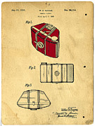 Kodak Prints - Camera Casing Patent 1935 Print by Edward Fielding