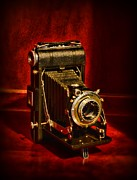 120 Prints - Camera - Eastman Kodak Folding Camera Print by Paul Ward