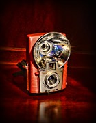 Film Camera Photo Prints - Camera - Vintage Brownie Starflash Print by Paul Ward