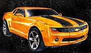 Scott Parker Metal Prints - Camero Metal Print by Scott Parker