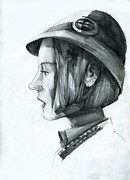 Novel Drawings Originals - Camille Linderen by Neal Cormier