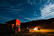 D700 Originals - Camp Fire by Michael Ver Sprill