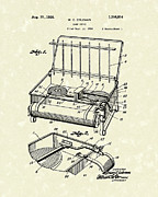 Outdoor Drawings - Camp Stove 1926 Patent Art by Prior Art Design