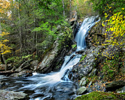 Litchfield Hills Prints - Campbell Falls - Power and Beauty Print by Thomas Schoeller