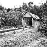 Campbell's Covered Bridge - Architectural Renderings - Built In 1909 Print by Andrew Wells
