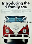 Seventies Posters - Campers Dream Poster by Benjamin Yeager
