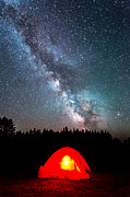 Creationism Originals - Camping at Night by Michael Ver Sprill