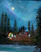 Myrna Walsh - Camping Under the Stars