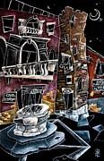 Campo San Boldo - Arte Moderna Contemporanea Di Venezia Print by Arte Venezia