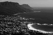 Cape Town Framed Prints - Camps Bay Cape Town Framed Print by Aidan Moran