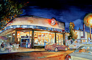 Bistro Paintings - Can Can Carytown by Jim Smither
