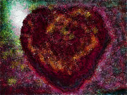 True Cross Digital Art Prints - Can You See My Heart Beating? Print by Steve Taylor