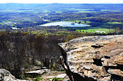Mountain Valley Photos - Canaan Valley from Valley View Trail by Thomas R Fletcher