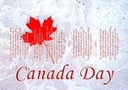 Canada Day .. The Maple Leaf Forever Print by The Creative Minds Art and Photography