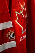 Canada Hockey Jersey Print by Paul Wash