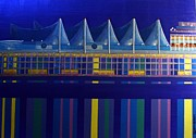 Vancouver Mixed Media - Canada Place by Bob Craig