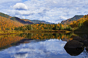 Jacques Framed Prints - Canadian Autumn Framed Print by Mircea Costina Photography