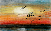 Canadian Geese Mixed Media - Canadian Aviation 1 of 2 by R Kyllo