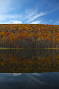Finger Lakes Photo Originals - Canadice Lake Reflections by Steve Clough