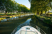 Midi Framed Prints - Canal Du Midi Series Framed Print by Josh Whalen
