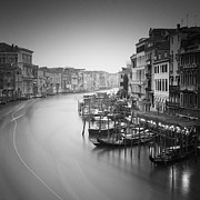 Venice Photos - Canal Grande Study III by Nina Papiorek