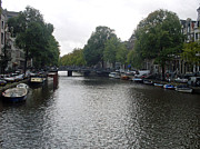 Amsterdam Prints - Canal of Serenity Print by Mike Podhorzer