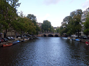 Amsterdam Prints - Canal of Wonder Print by Mike Podhorzer