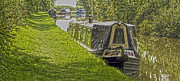 Shaun White Prints - Canalboats 3 Print by Shaun White